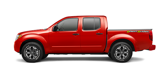 Photo of the Nissan Frontier Crew Cab Desert Runner truck model.