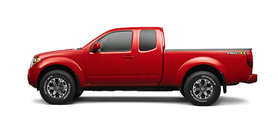 Photo of the Nissan Frontier King Cab PRO-4X® truck model.