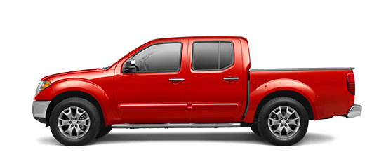 Photo of the Nissan Frontier Crew Cab SL truck model.