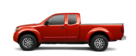 Photo of the Nissan Frontier King Cab SV 4-cylinder truck model.