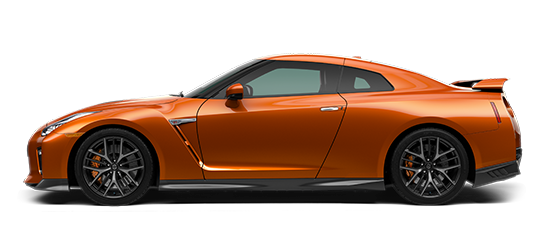 Photo of the Nissan GT-R Premium sports car.