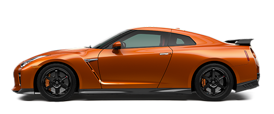 Photo of the Nissan GT-R Track Edition sports car.