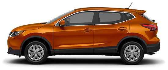 Photo of the Nissan Rogue Sport S Crossover vehicle.