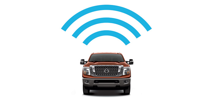 Nissan 4G WiFi and Apps