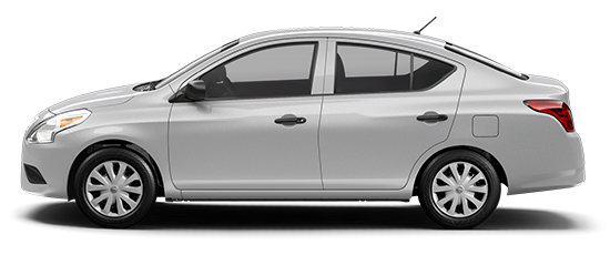 Photo of the Nissan Versa S, 4-door Sedan.
