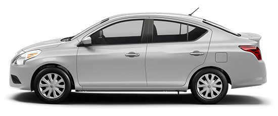 Photo of the Nissan Versa SV, 4-door Sedan.