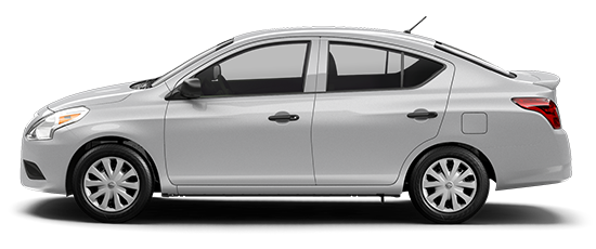 Photo of the Nissan Versa S Plus, 4-door Sedan.