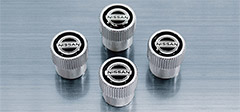 Nissan Valve Stem Caps (4-piece set)